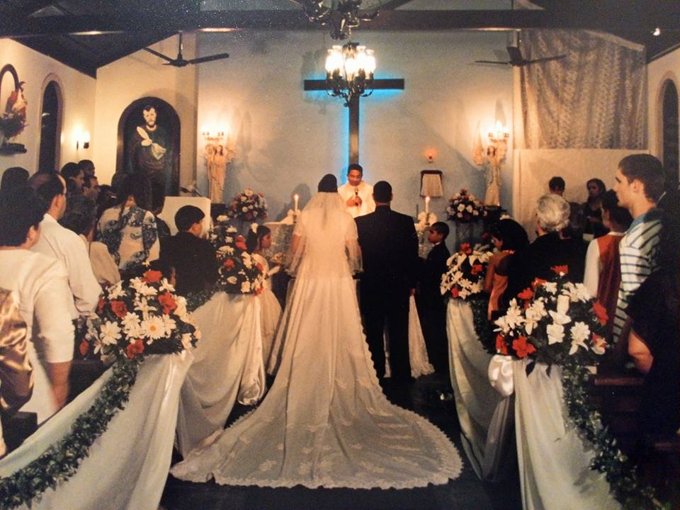 Último casamento realizado na capela antiga